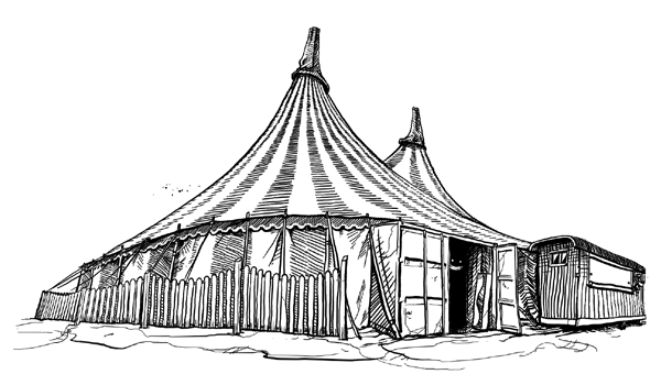 Circustent - Sketch - Thuishaven