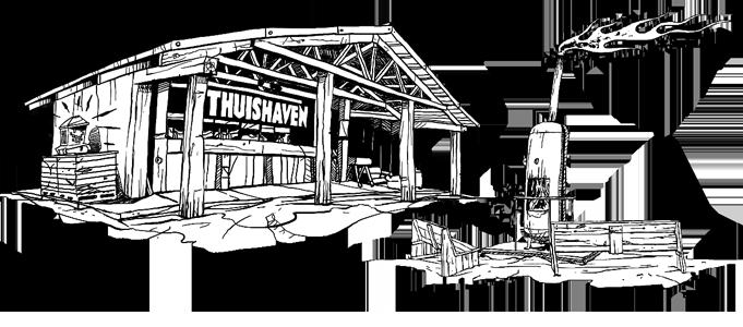 Barhuisje - Sketch - Thuishaven